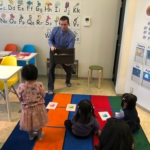 Newbieクラス(3歳・4歳のクラス)も楽しくレッスン中!