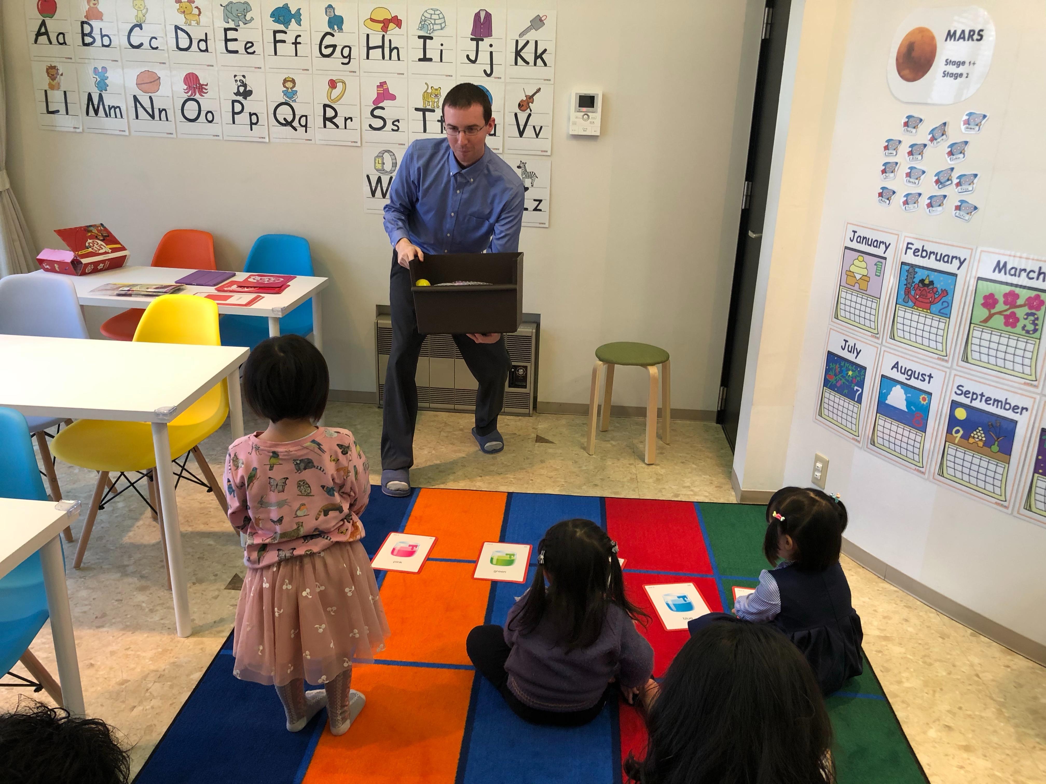 Newbieクラス(3歳・4歳のクラス)...
