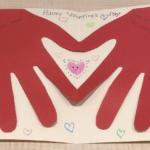 バレンタイン メッセージカード
