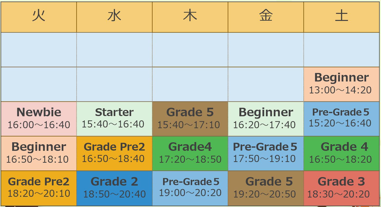 人気のPreGrade5クラスを増設!【...